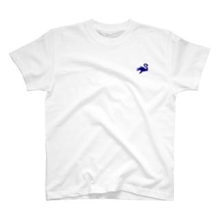えらすもさうるす(恐竜シリーズNo1・ワンポイント) T-shirts