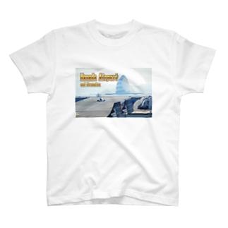 東京都+神奈川県:羽田空港と川崎人工島 Tokyo+Kanagawa: Haneda Airport and Kawasaki-jinkoutou  T-shirts