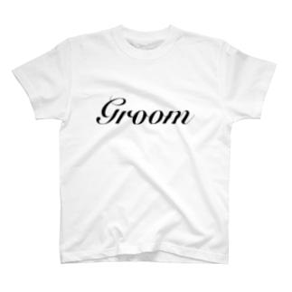 新郎Tシャツ Groom T-shirts