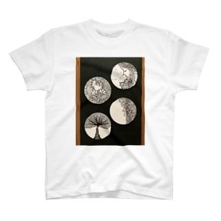 白と黒の世界No. 1 T-shirts