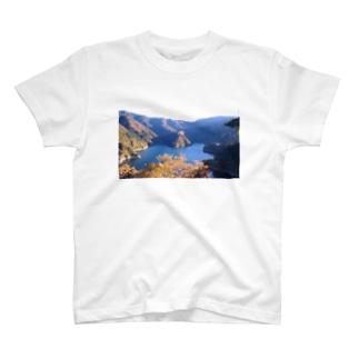 奥多摩の紅葉 T-shirts