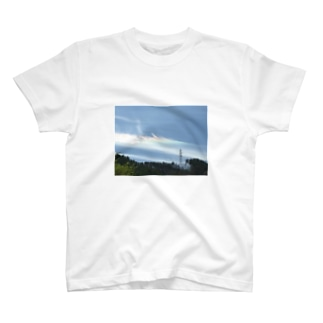 幸せを呼ぶ彩雲 T-shirts