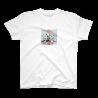 5103Kの宍道湖戦隊ウサギーズ T-shirts