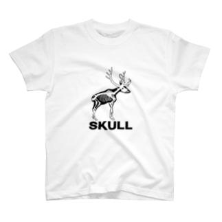 SUKLLシリーズ第2弾(黒シカ) T-shirts