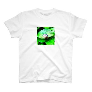 カタツムリ君 T-shirts