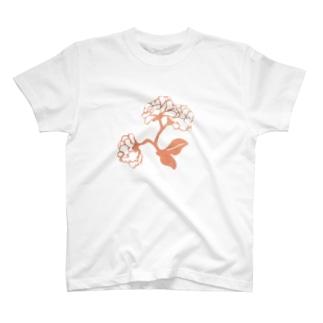 花開く T-shirts