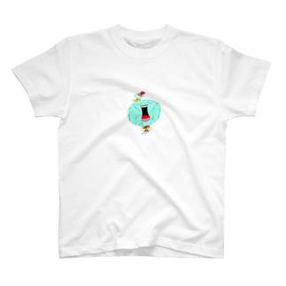 どこかしらの宇宙人さん T-shirts