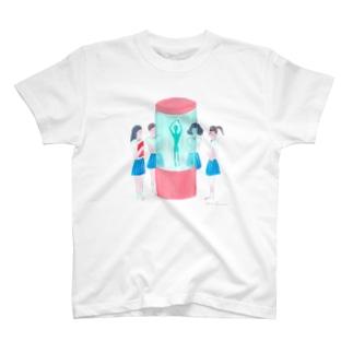 未確認生命体確保 T-shirts