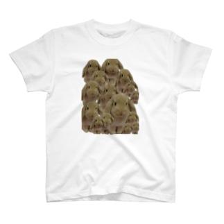 こんもりうさぎ。 T-shirts