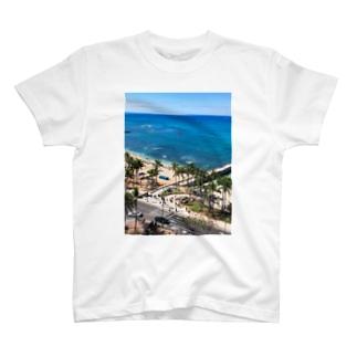 ワイキキビーチ T-shirts
