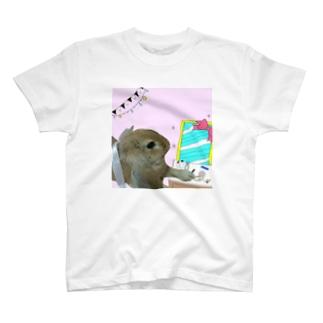 くるみ・メイクアップ T-shirts