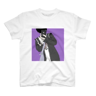 黒髪くん T-shirts
