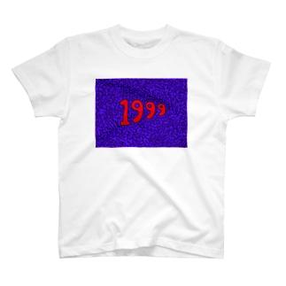 T-SHIRT WITH 1999 PRINT T-shirts