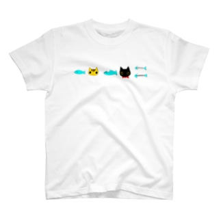 だんだん食べられる T-shirts