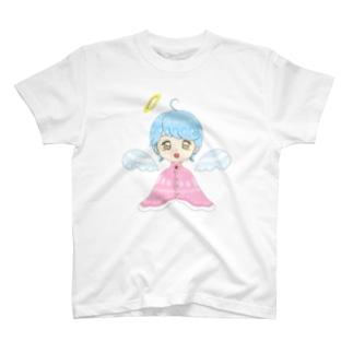 天使の女の子 T-shirts