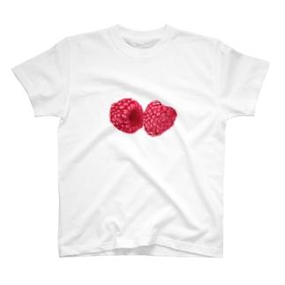ラズベリー T-shirts