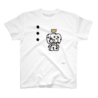 ジージョのデカ文字わんこ「・・・」 T-shirts