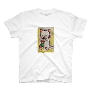 クリスマスの朝 T-shirts
