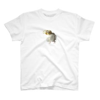 WAKIWAKIおかめちゃん T-shirts