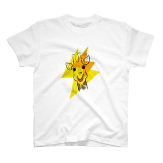きりんさんとイナズマ T-shirts