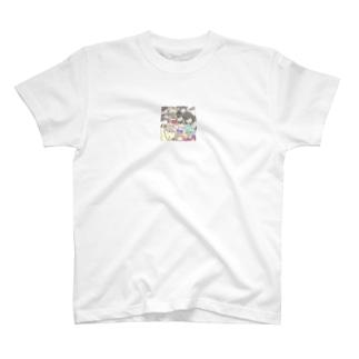 ぼぶちゃんせっとちゃんがいっぱい T-shirts