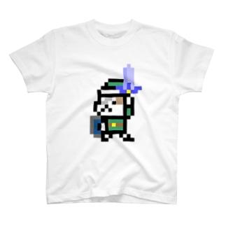 ネコブレイバー緑 T-shirts