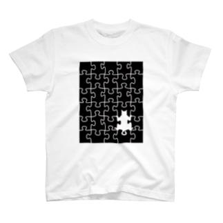 ジグソーきゃっと T-shirts