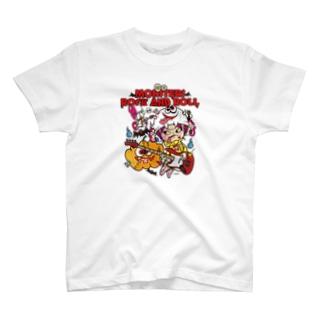 MONSTERSROCKANDROLL T-shirts