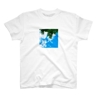 空と緑君 T-shirts