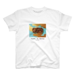 鶴と松 TSURU TO MATSU T-shirts