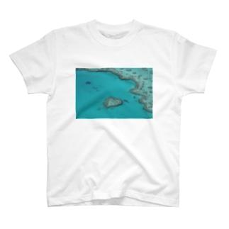 HEART LEAF T-shirts