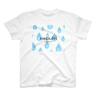 汗がどっと出る T-shirts