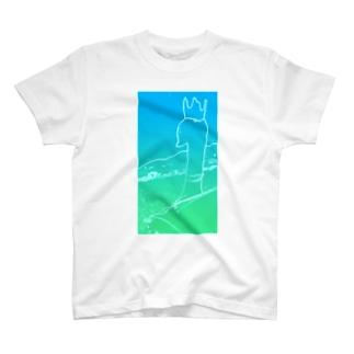 健気なスワンくん T-shirts