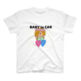 Happy Heartsのスッテカー T-shirts