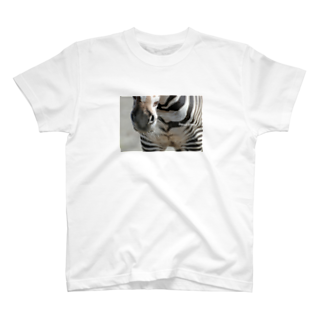 タマのEquus grevyi T-shirts