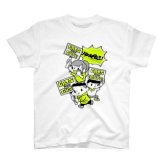 ねこかわいいマーチ T-shirts