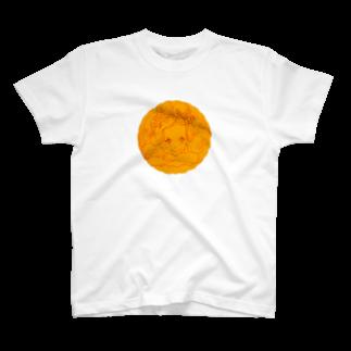 キャットさんのガールさん(橙) T-shirts