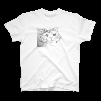 キャットさんのねこさん T-shirts