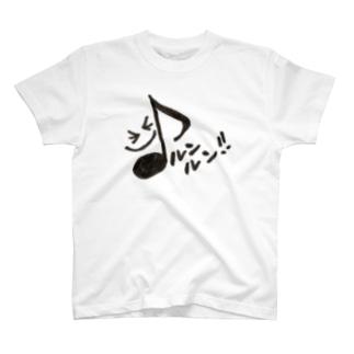 音符な毎日♪おんぷちゃん♪ T-shirts