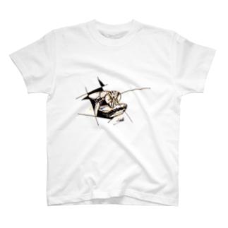 オオカマキリ T-shirts