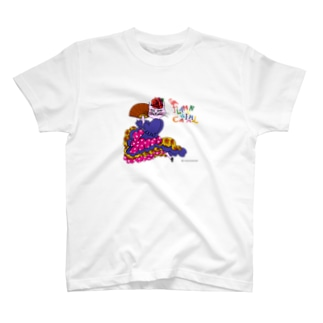 FLAMENCANIMAL(フラメンカニマル)ネコ T-shirts