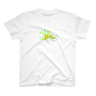 ハナミノカサゴ T-shirts