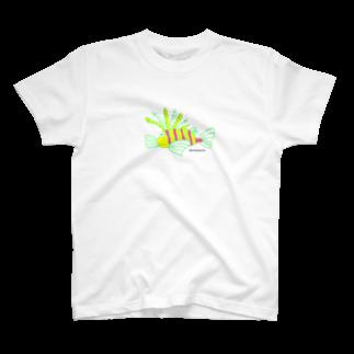 はだかパンツのハナミノカサゴ T-shirts