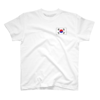 韓国ロゴ T-shirts