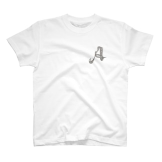イニシャル A T-shirts