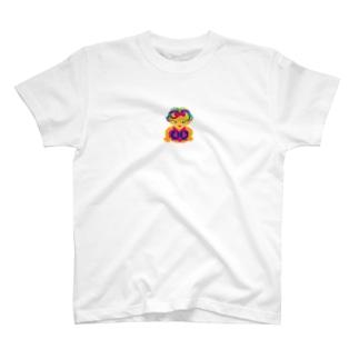 可愛い女の子ビザコちゃん T-shirts