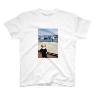 初めての海とヨット T-shirts