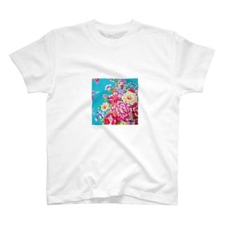 中国語シリーズ『百年好合』四字熟語 T-shirts