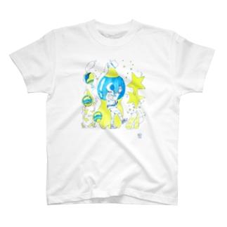 ハジケロタンサン T-shirts