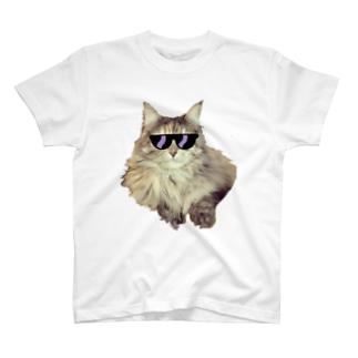 サングラスネコ T-shirts